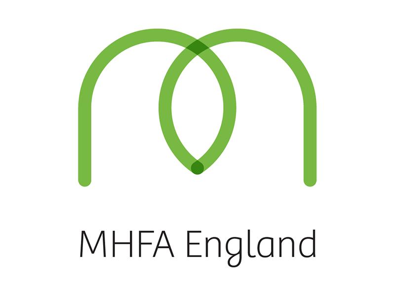 MHFA England logo