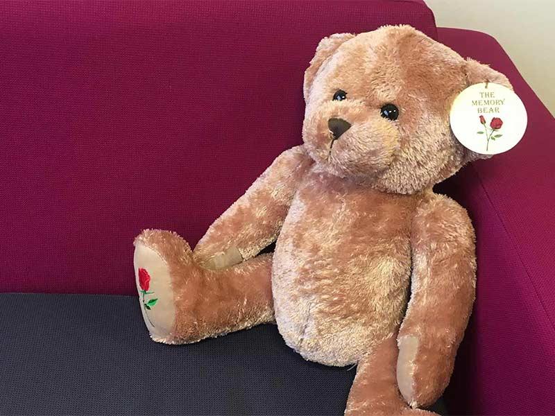 Rosedale memory bear
